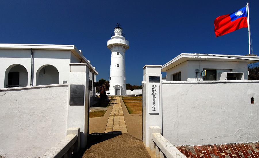 鵝鑾鼻灯台の入口