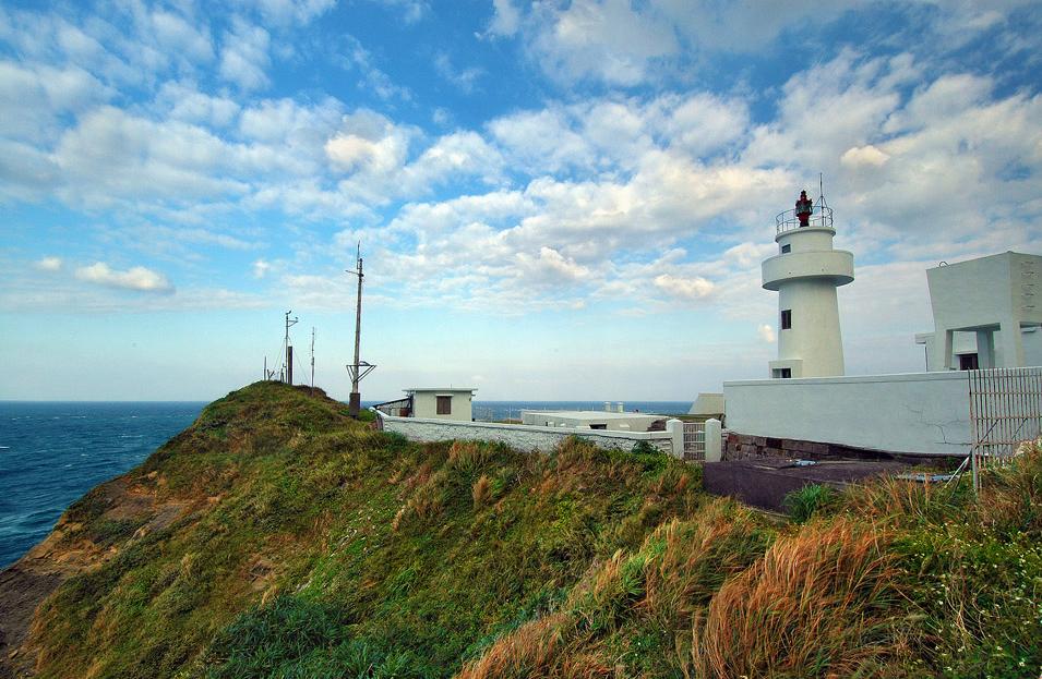 鼻頭角灯台の美景