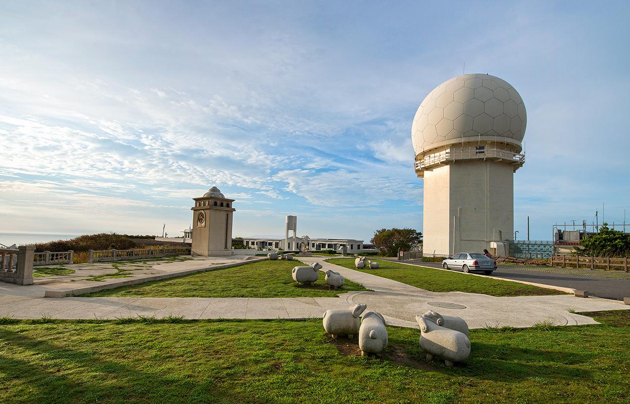 三貂角灯台の美景