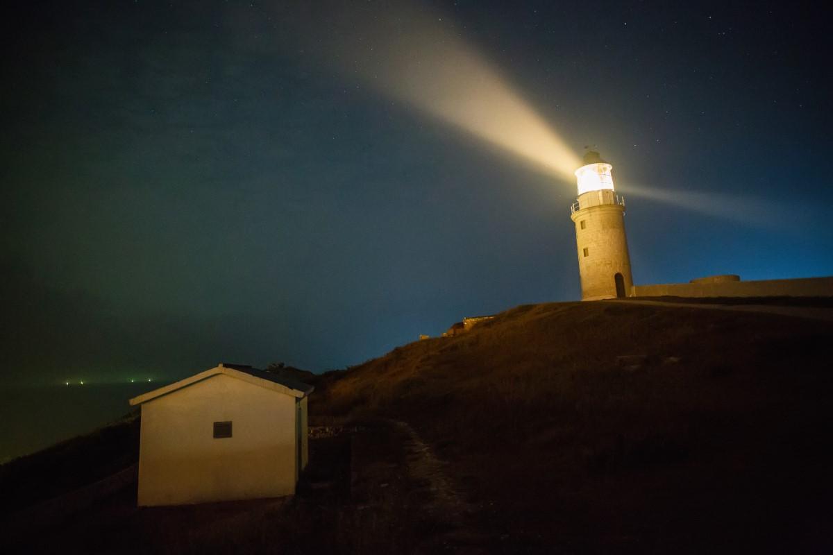 東莒島灯台の夜景