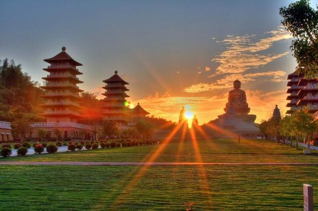 仏光山仏陀紀念館の美景