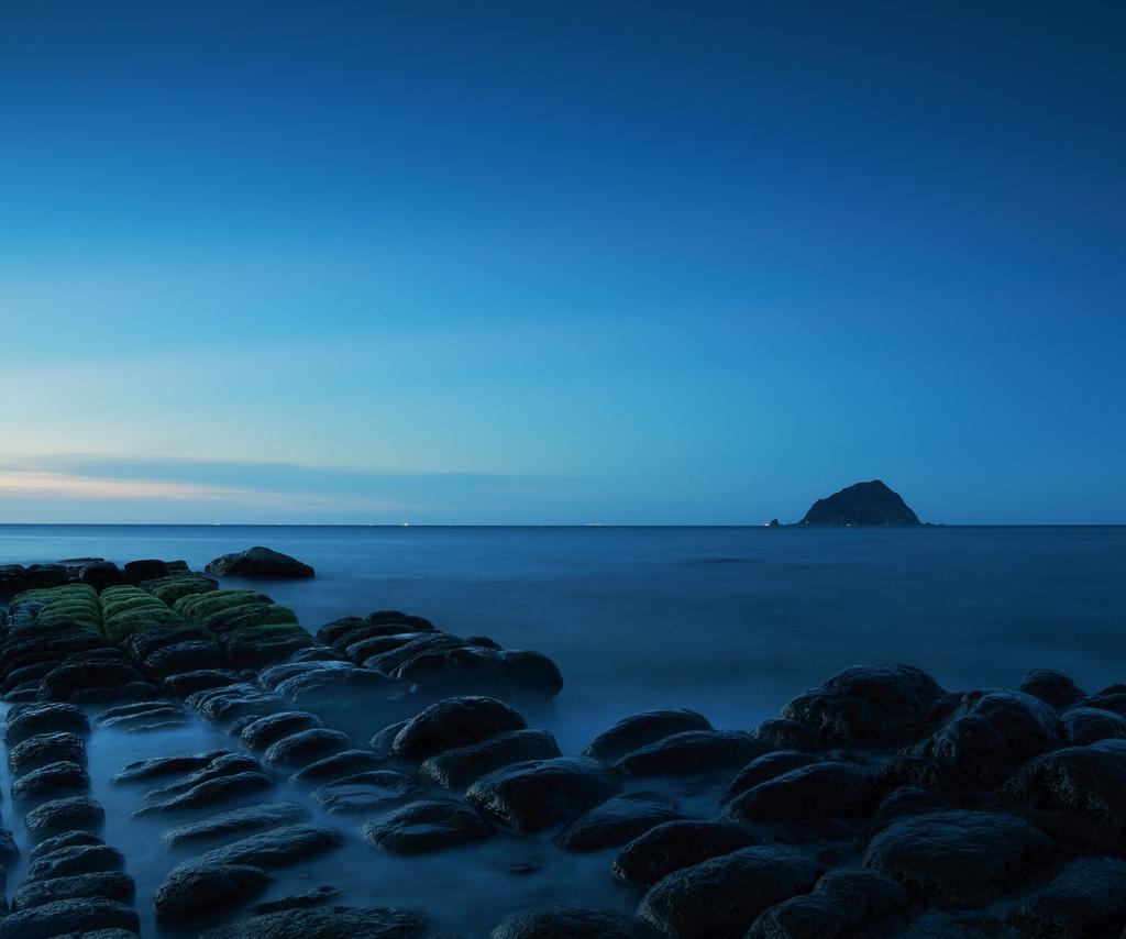 青い和平島
