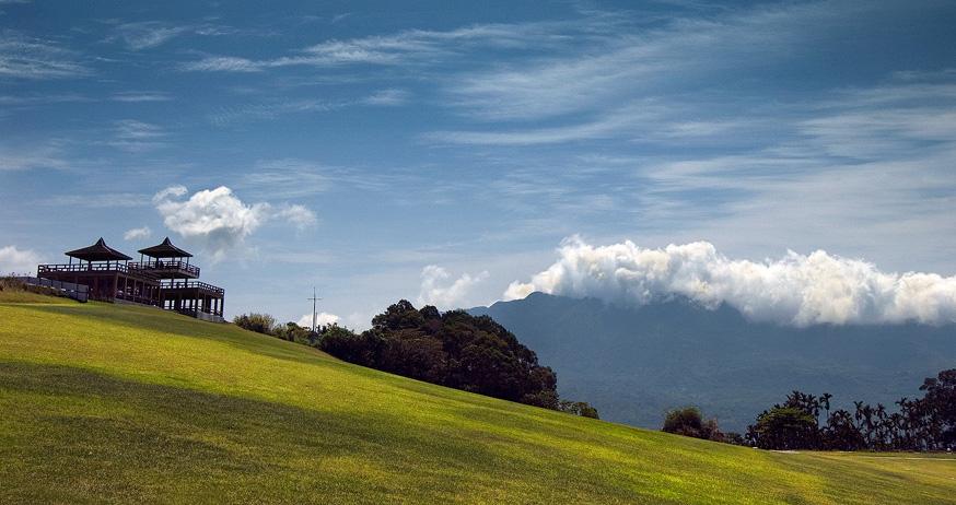 鹿野観光茶園の風光