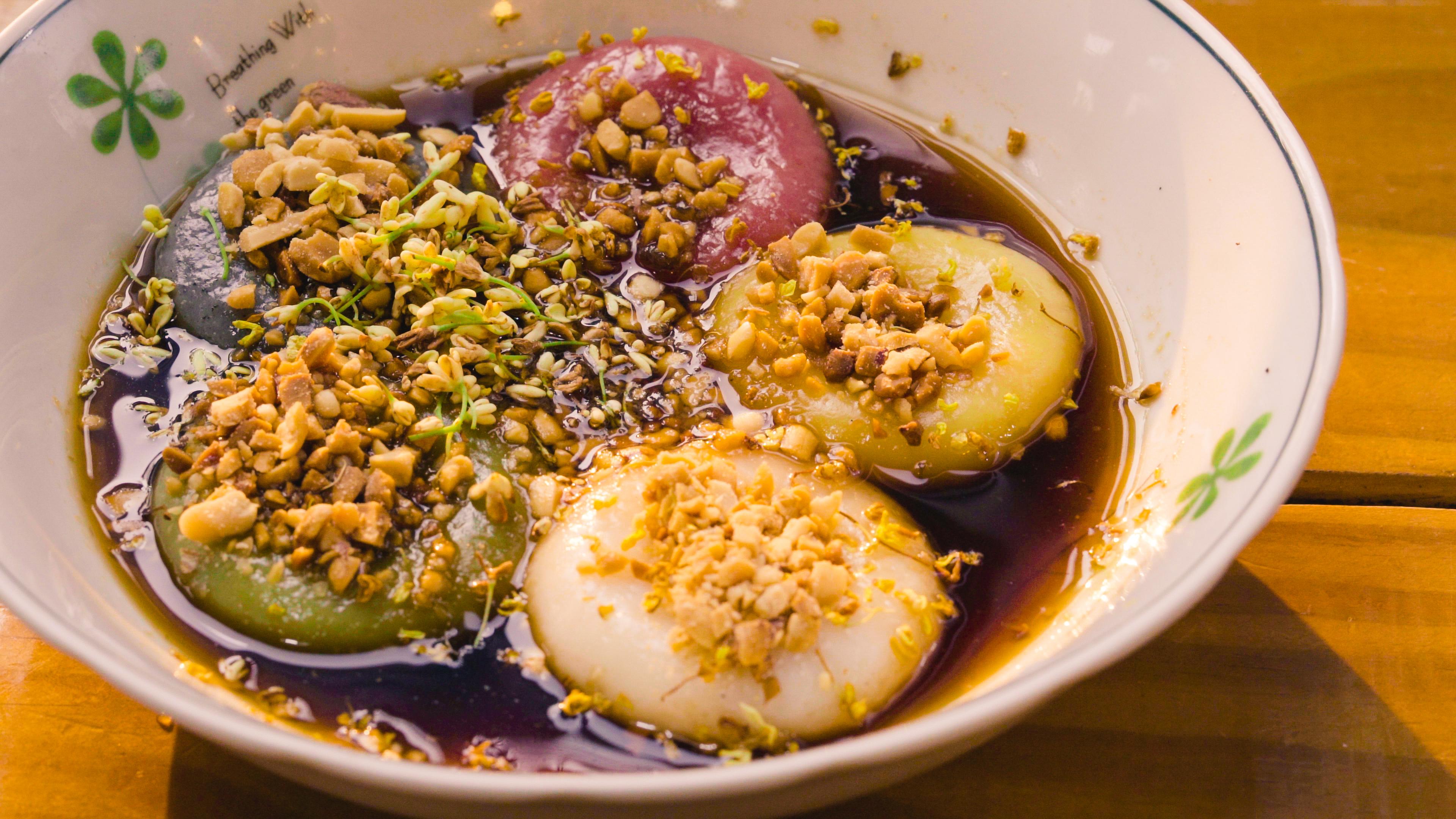 桂花釀湯円