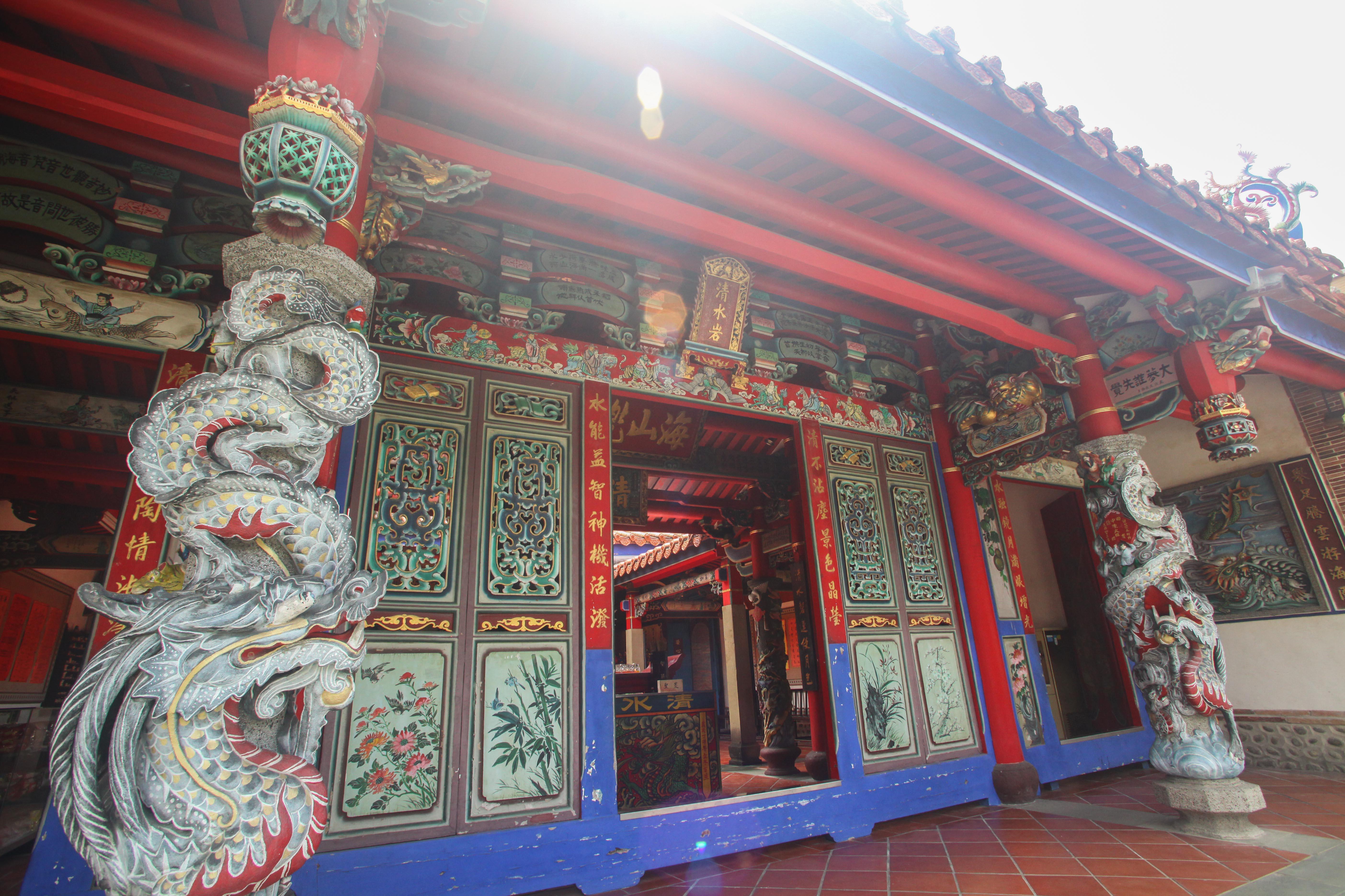 清水岩寺の入口