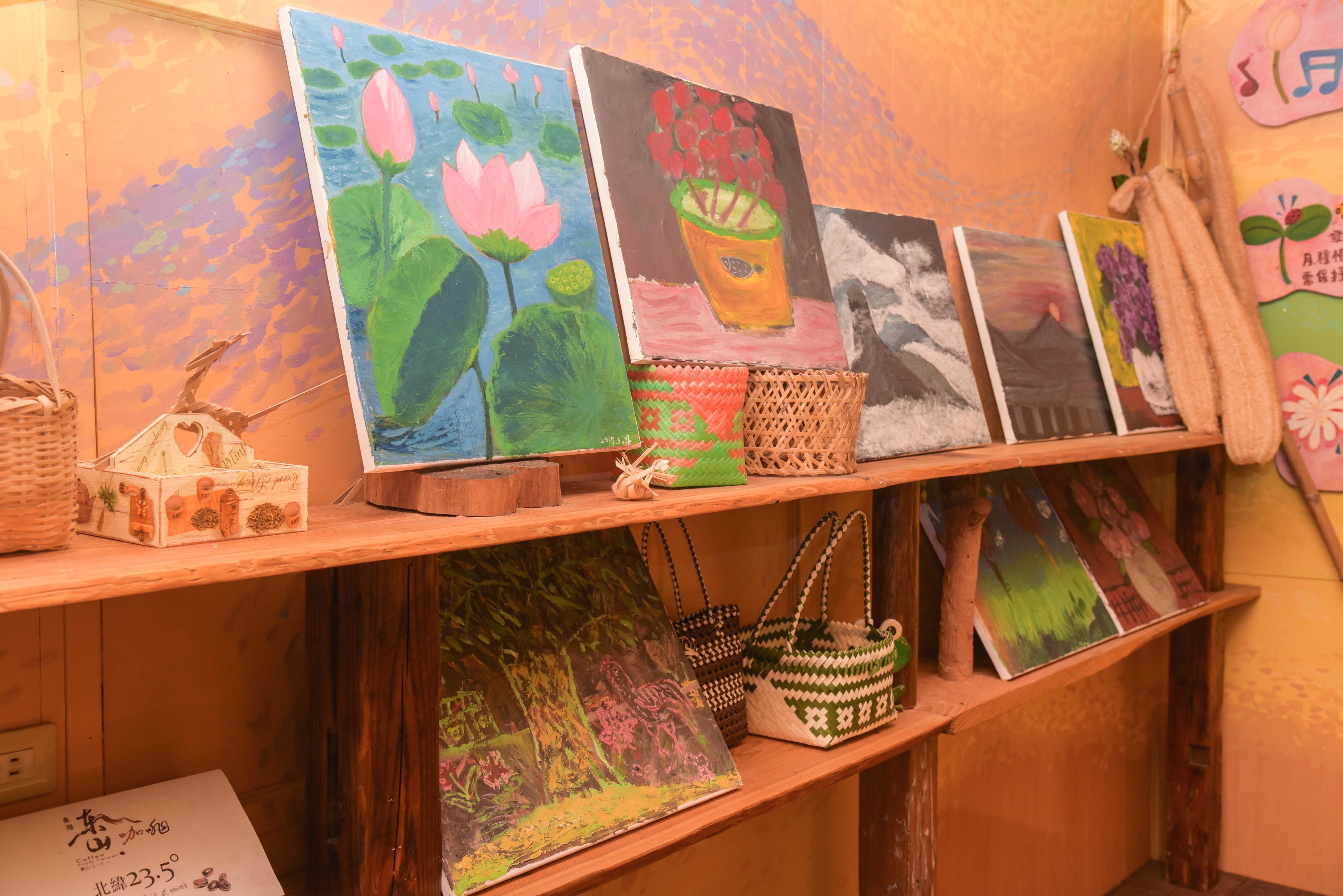 絵画の展示エリア