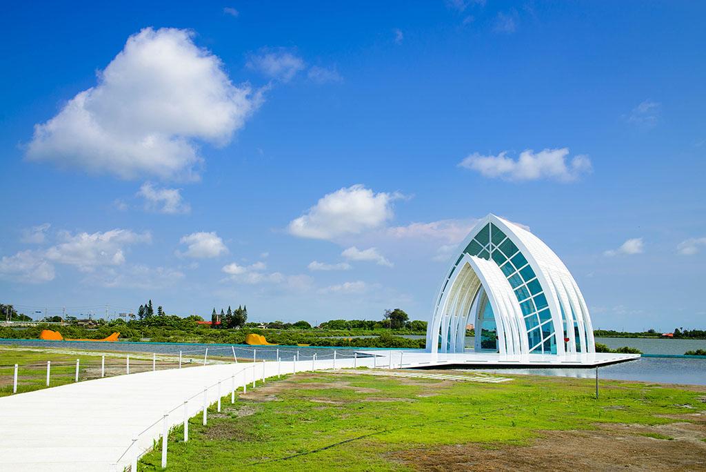 水晶教会の風景