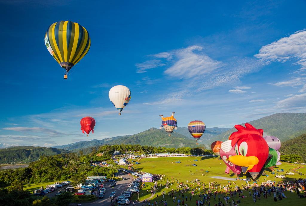 熱気球のカーニバル