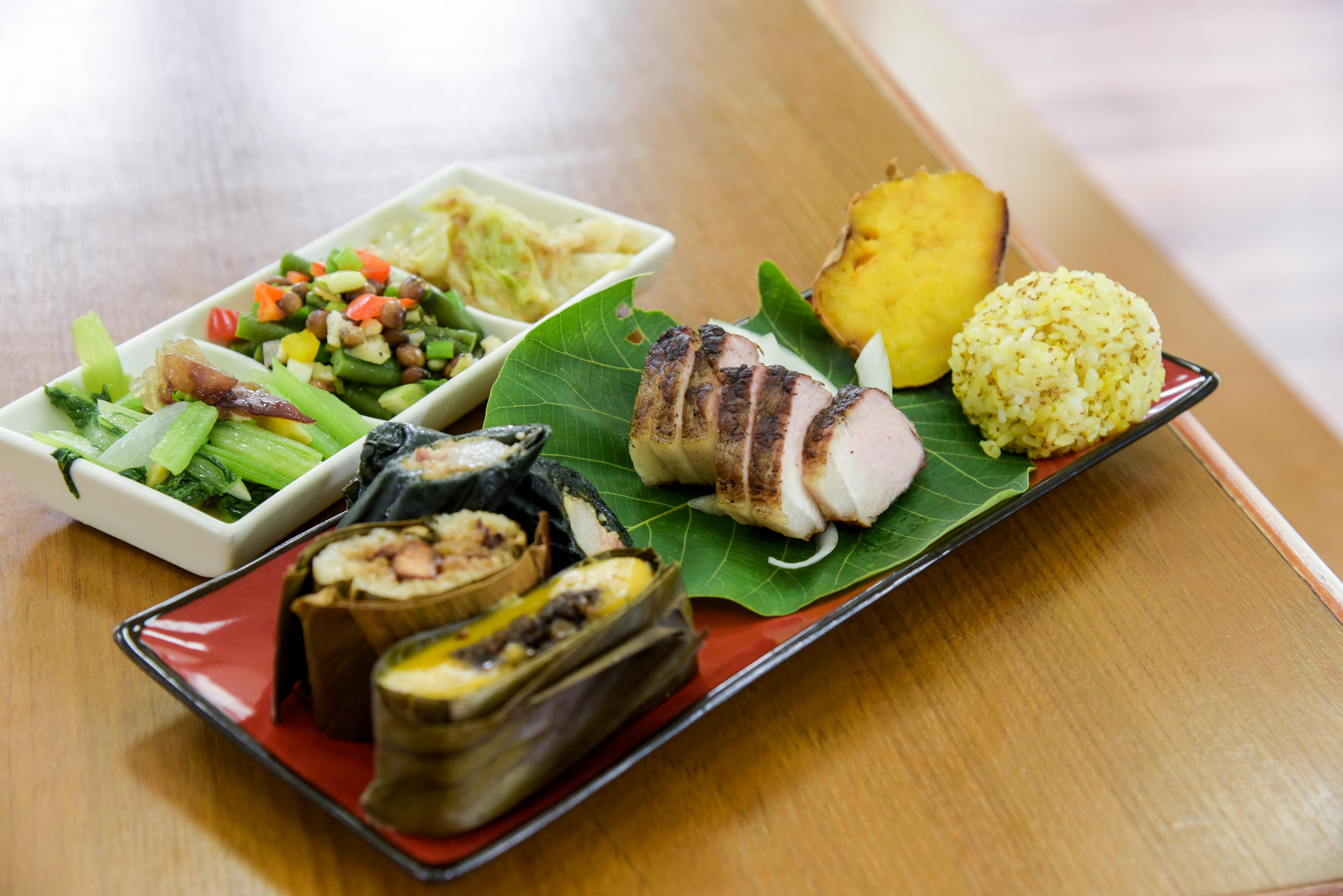 パイワン族の伝統的な郷土料理