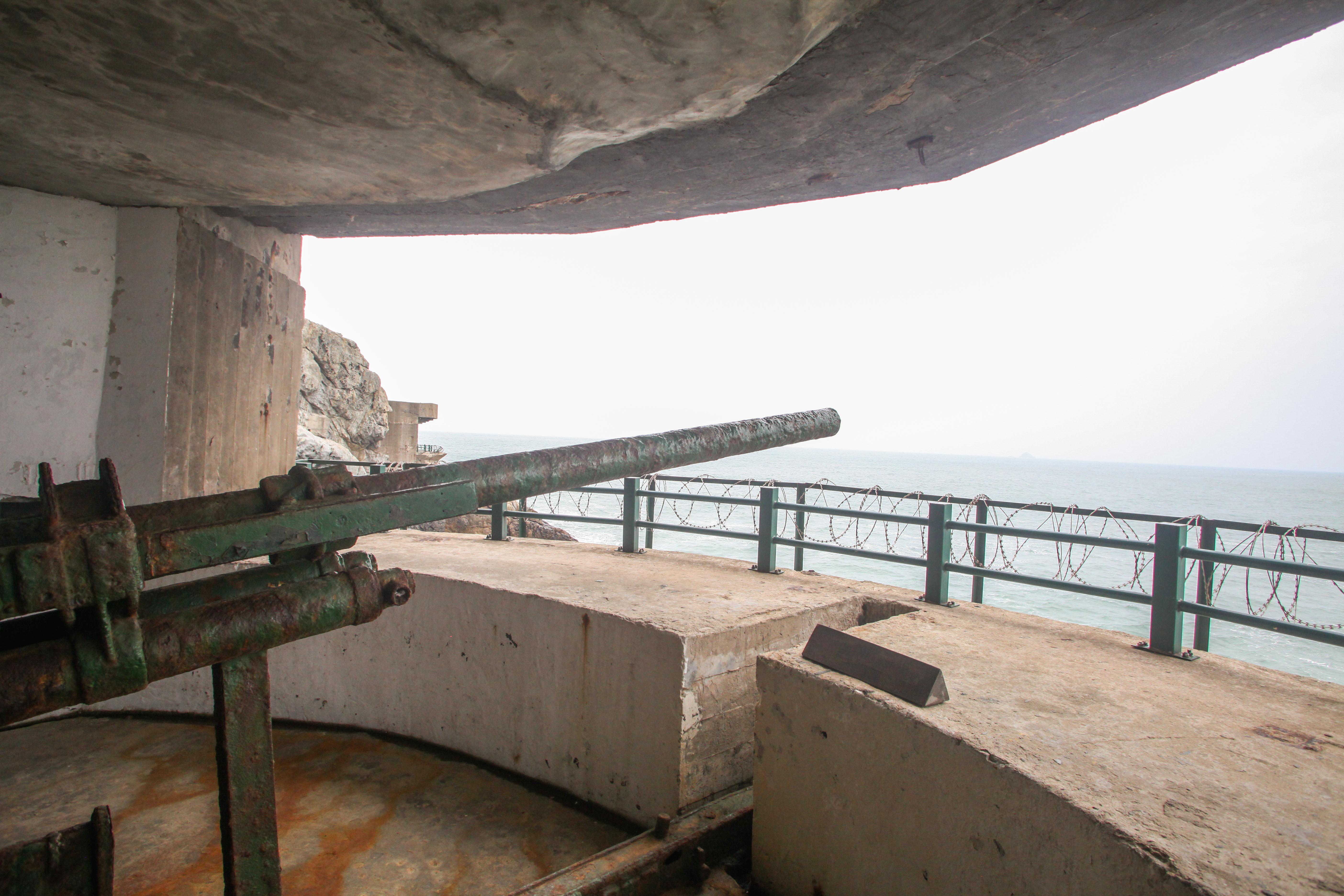 大漢拠点の砲台