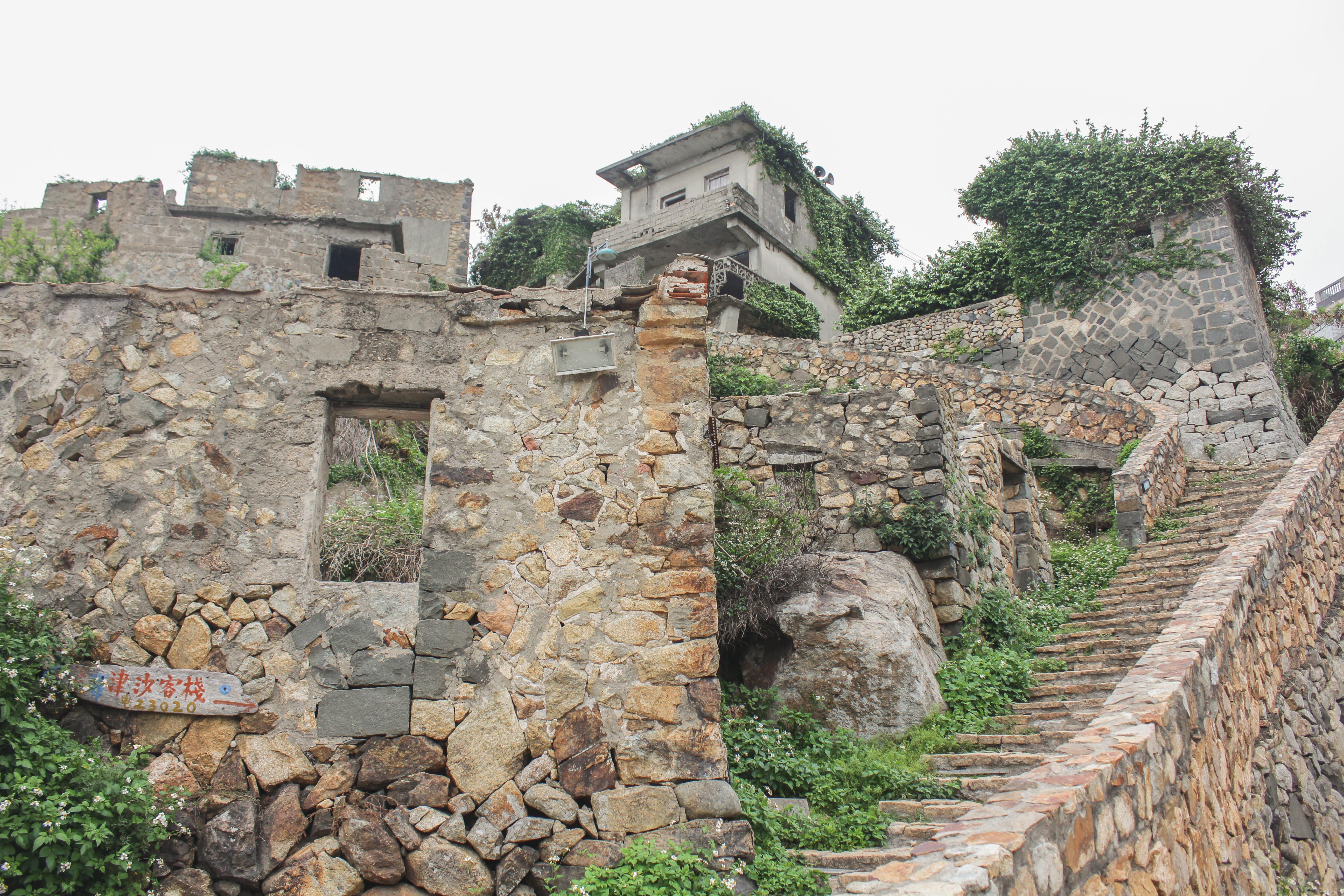 津沙集落の古い城