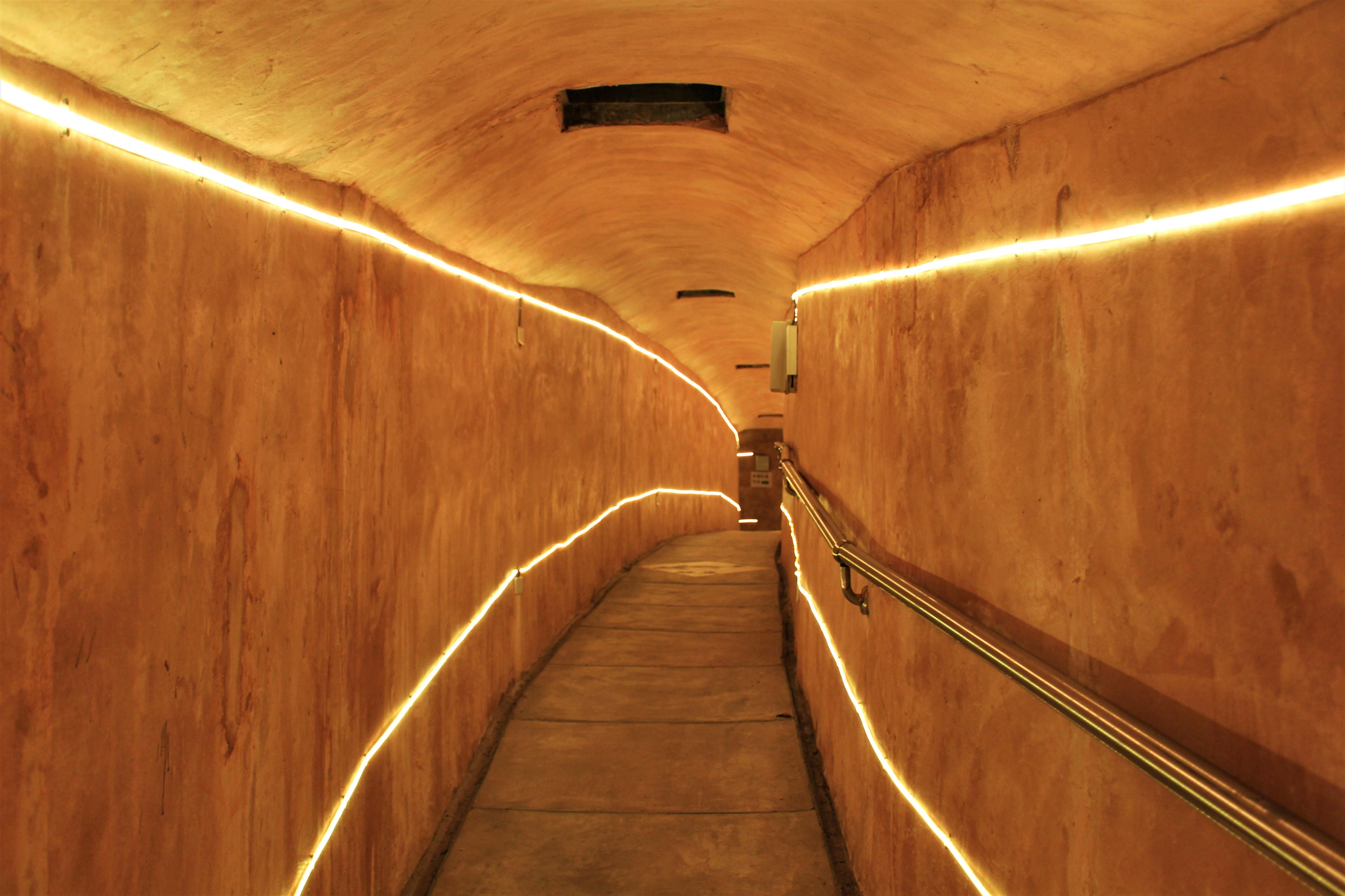 祈福坑道の内部