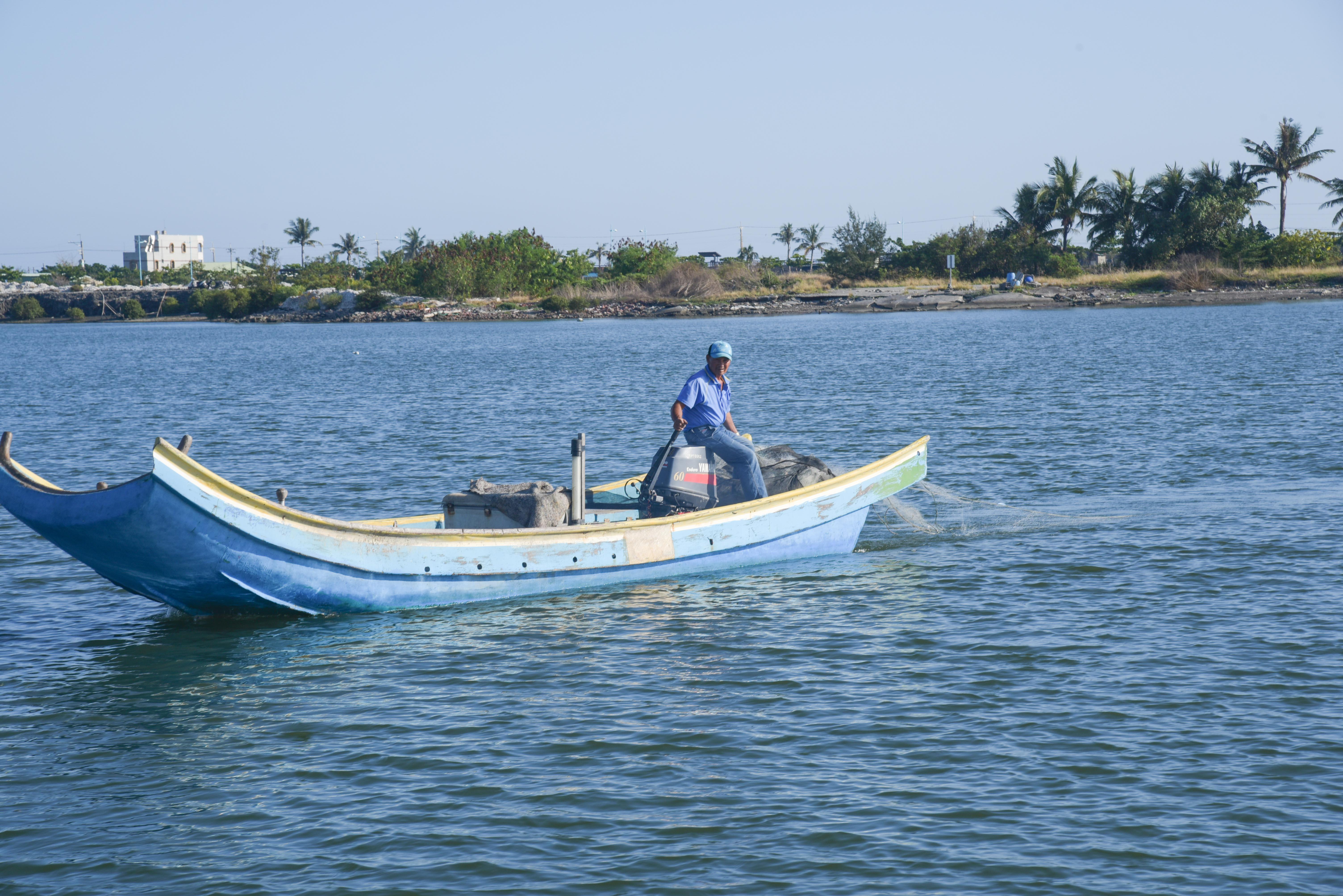 濱湾公園の漁船