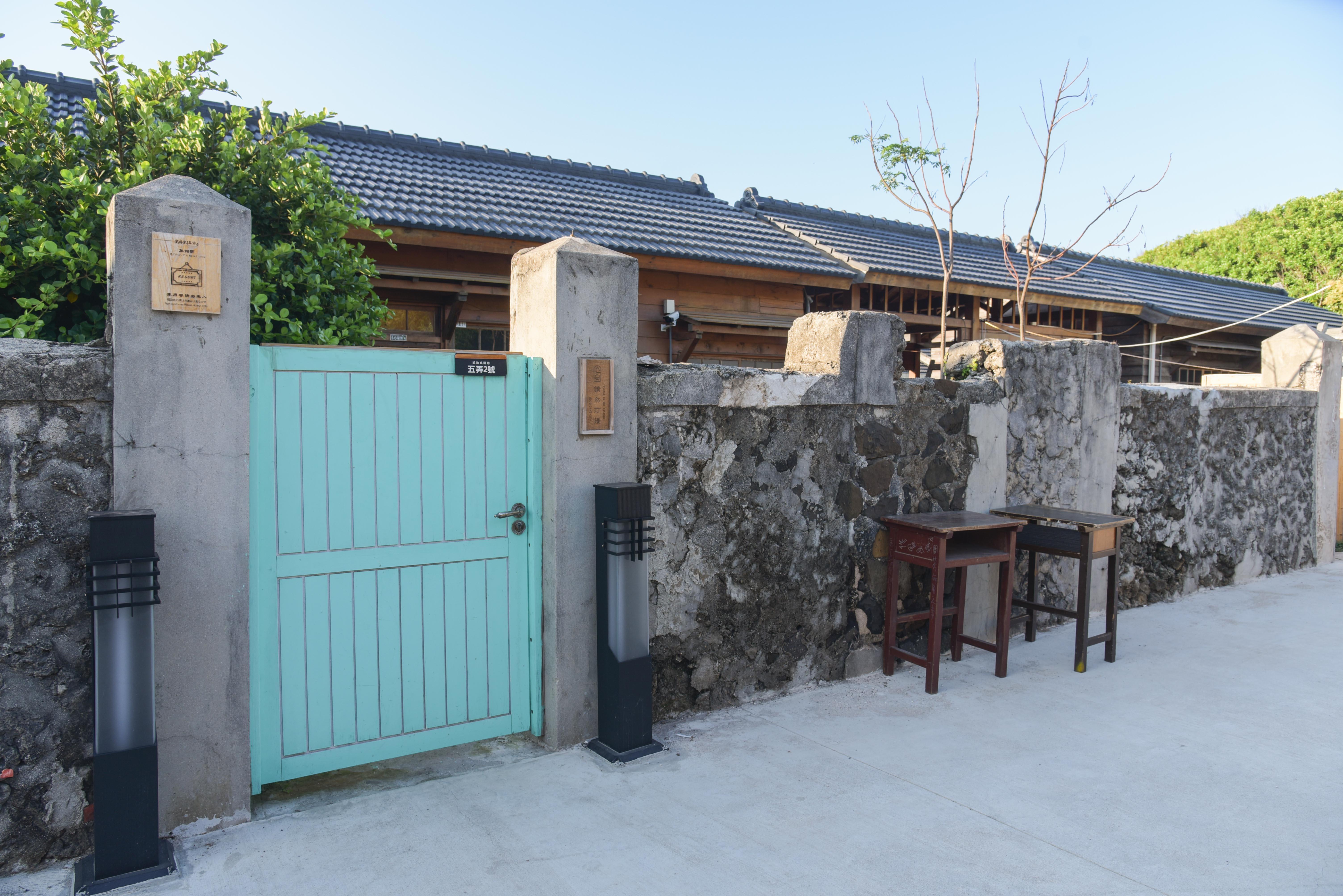 篤行十村にある小屋