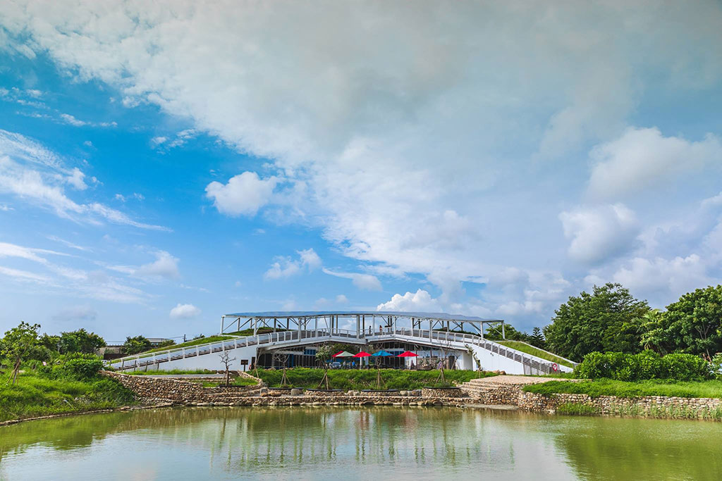 雲嘉南浜海国家風景区-口湖ビジターセンター