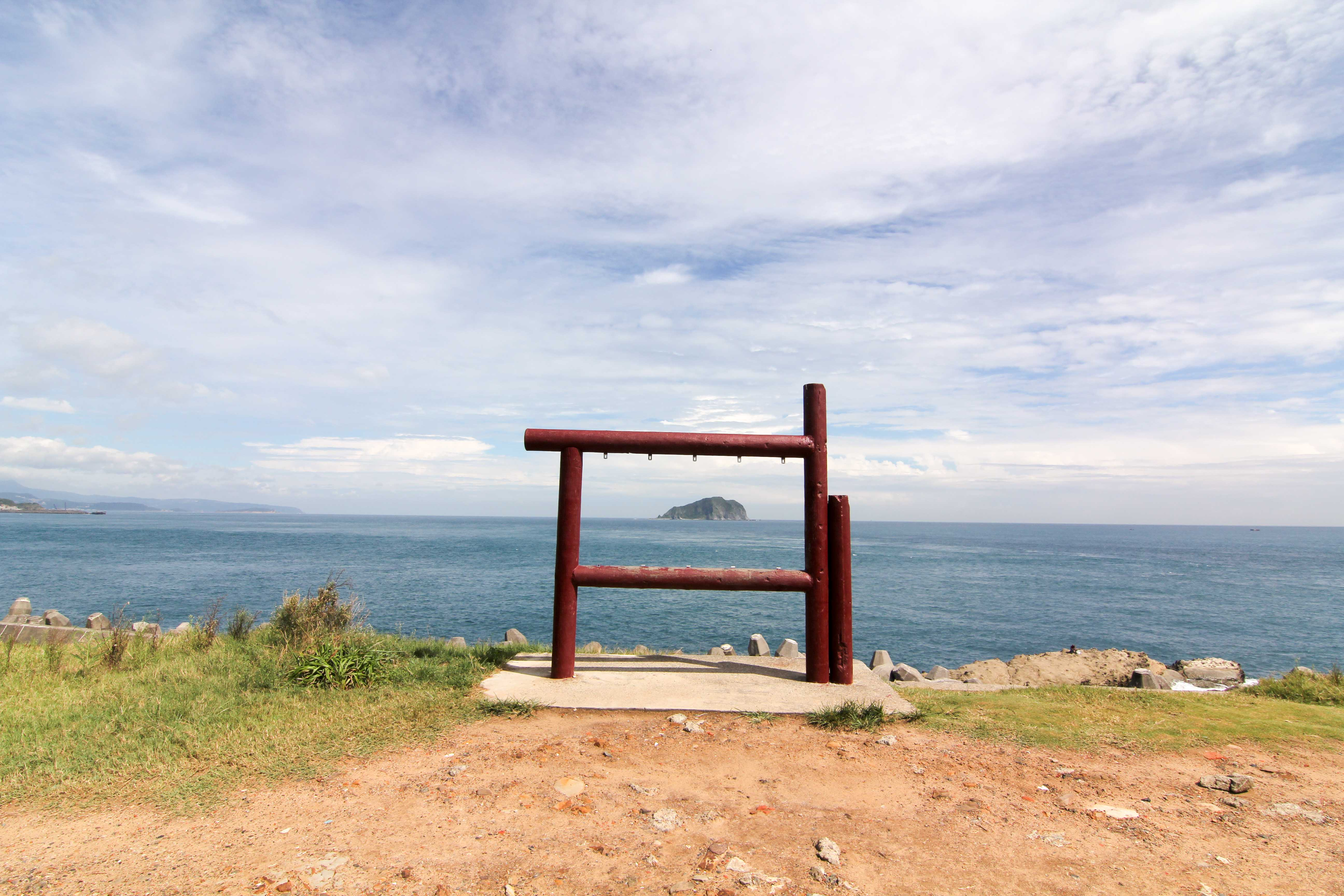 潮境公園のインスタレーション作品
