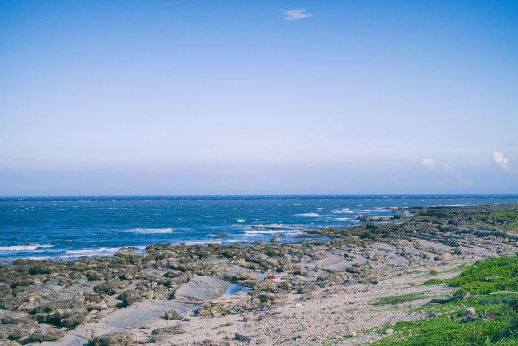 海岸の地質