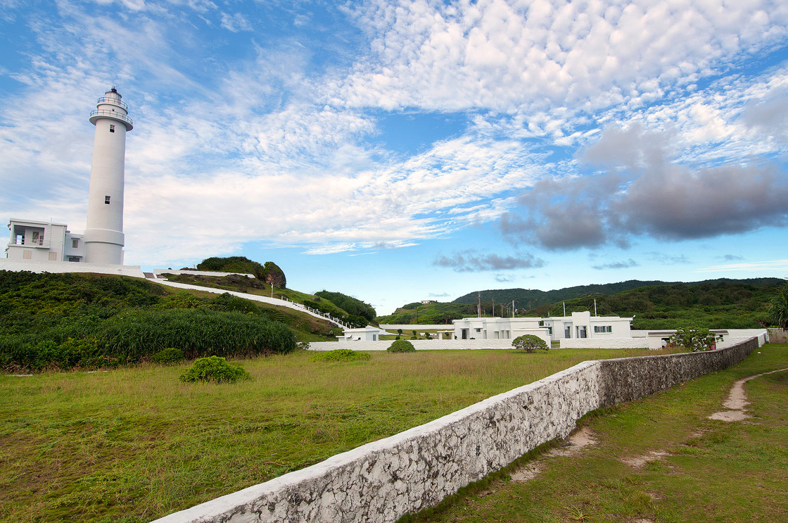 緑島灯台の美景
