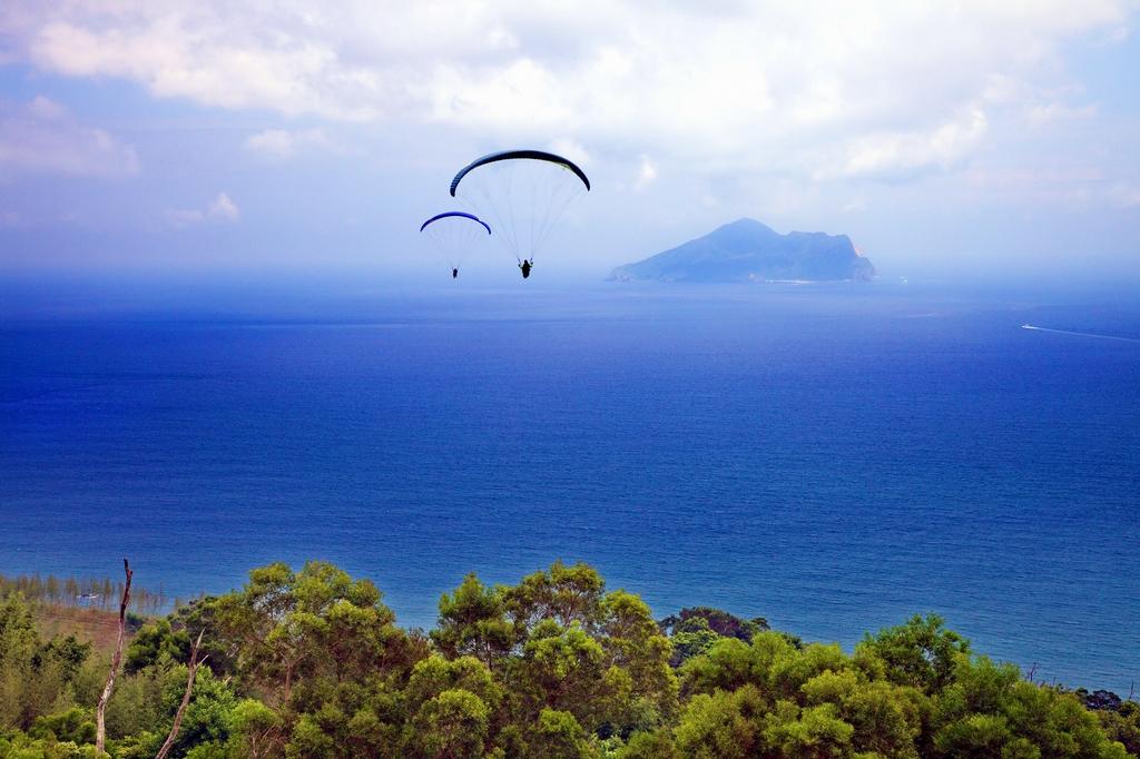 亀山島を眺める