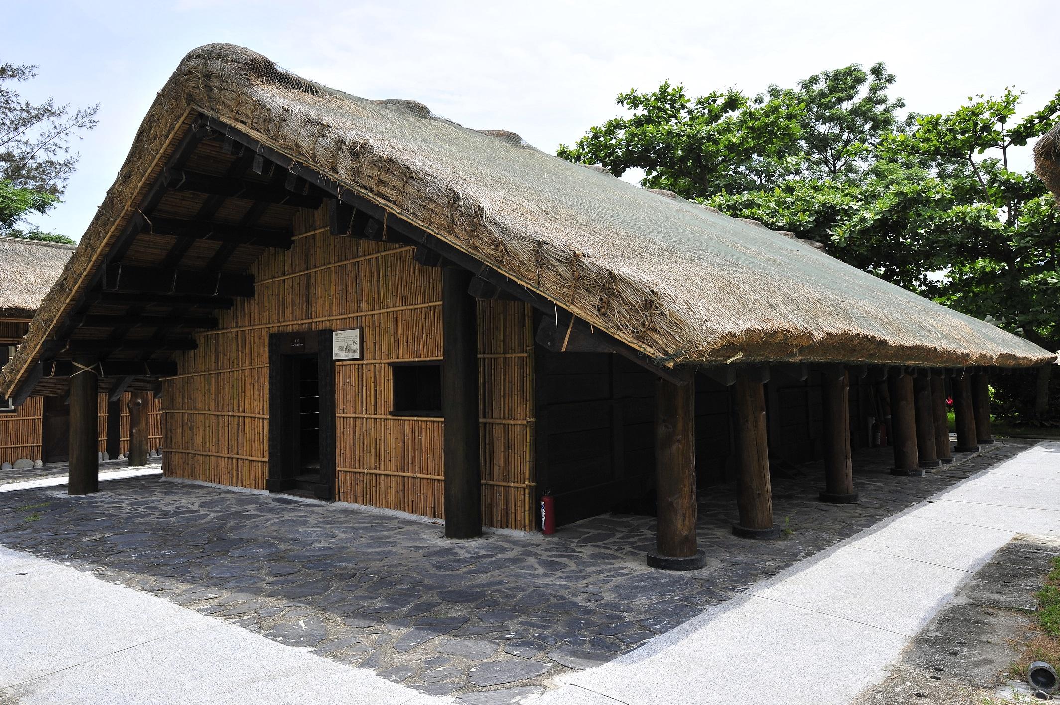 アミ族の家屋