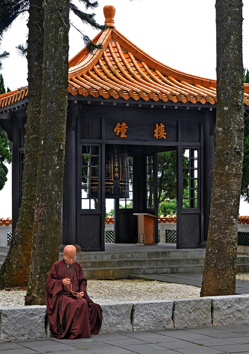 玄奘寺の鐘楼