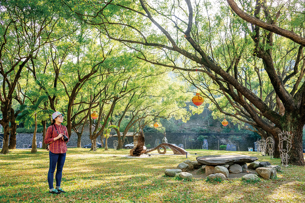 台湾原住民族文化園区の景色