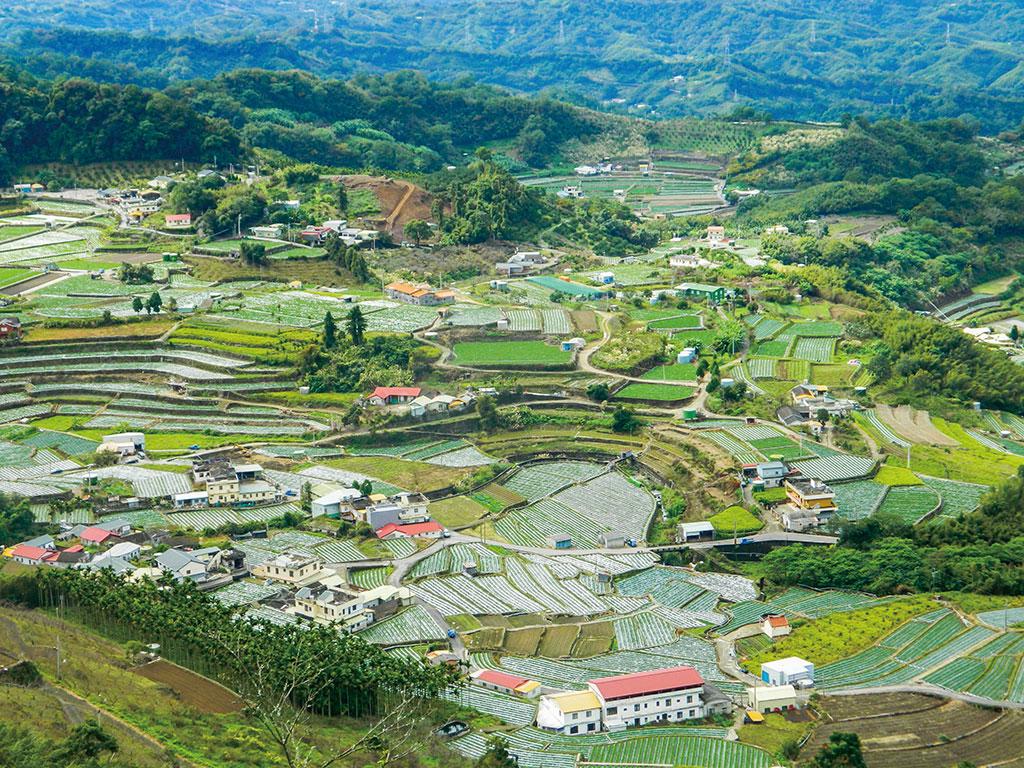 マラパン山の風景