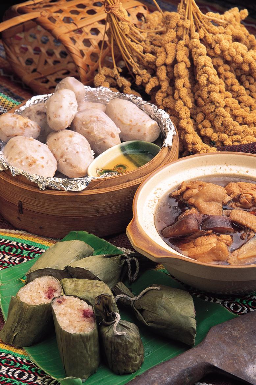 烏来温泉の美食