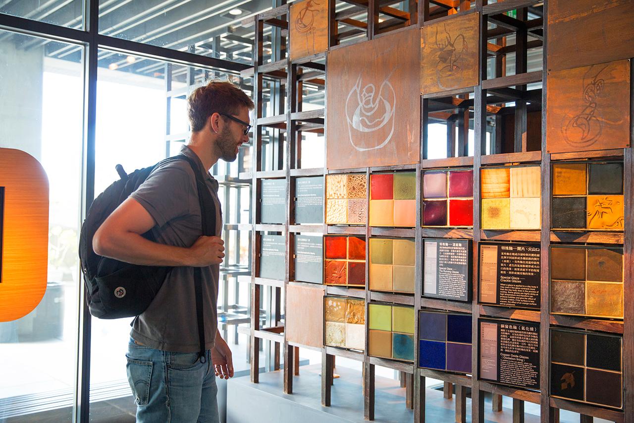 鴬歌陶瓷博物館の展示品