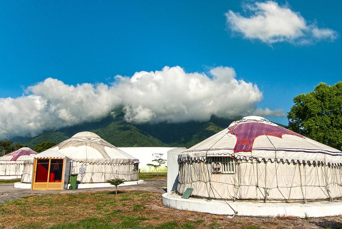 池上牧野レクリエーションセンター-モンゴル族の屋敷