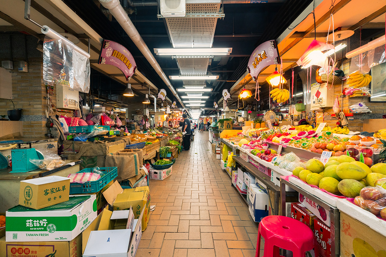 永楽市場の内部