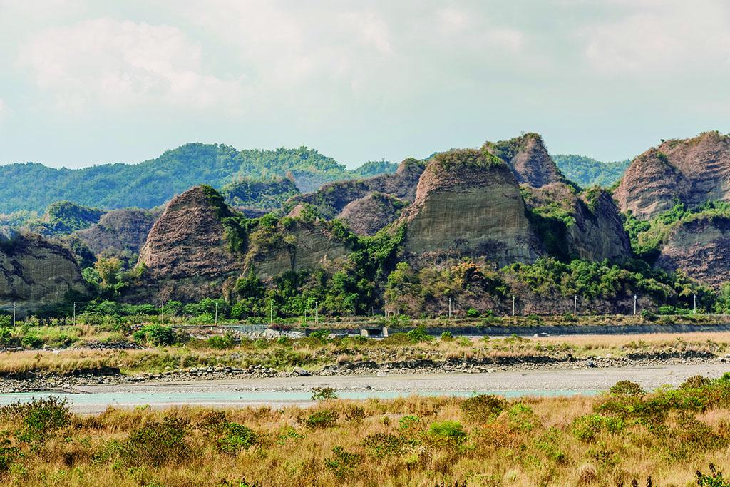 十八羅漢山の美景
