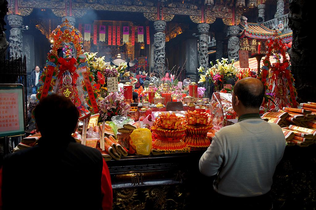 三峡清水祖師廟の内部