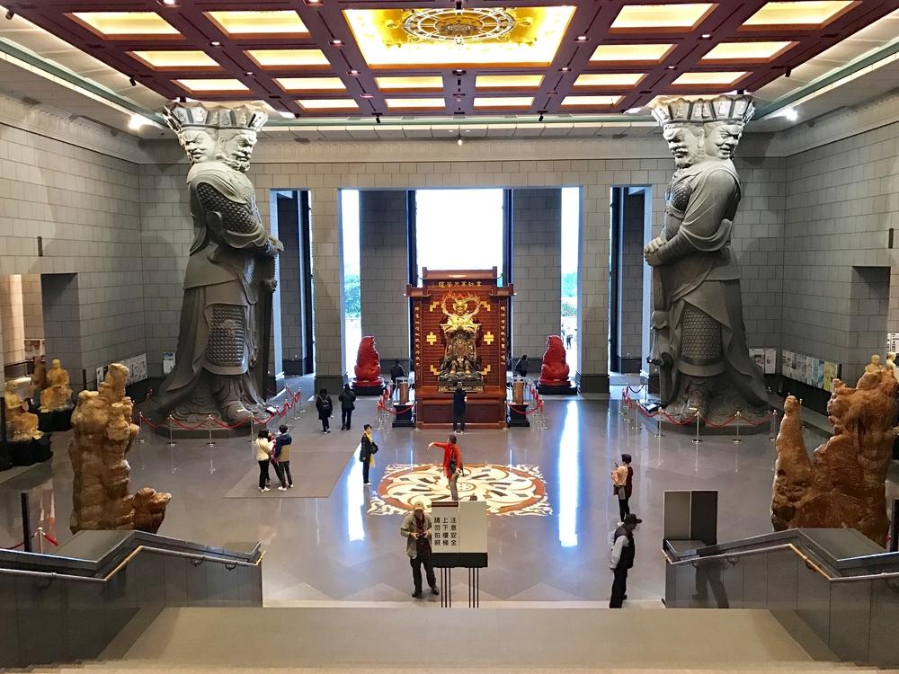中台禪寺の内部