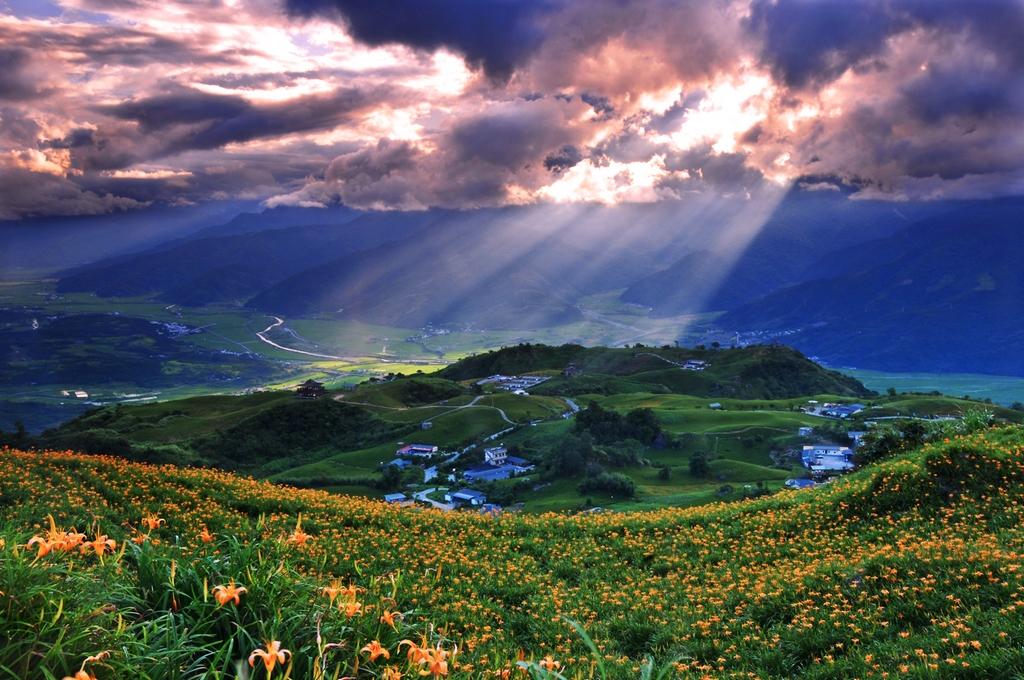 六十石山の美景