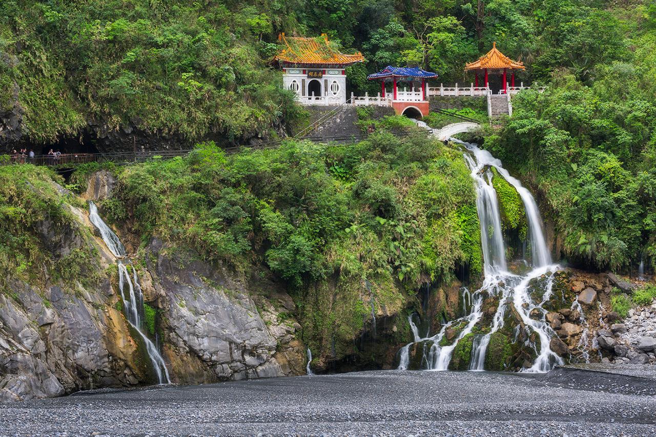 タロコ国家公園の風景