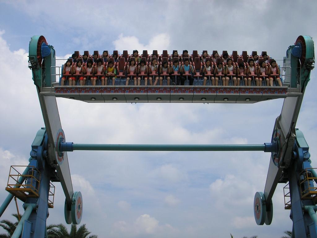 遊楽施設-Galactuc Spin