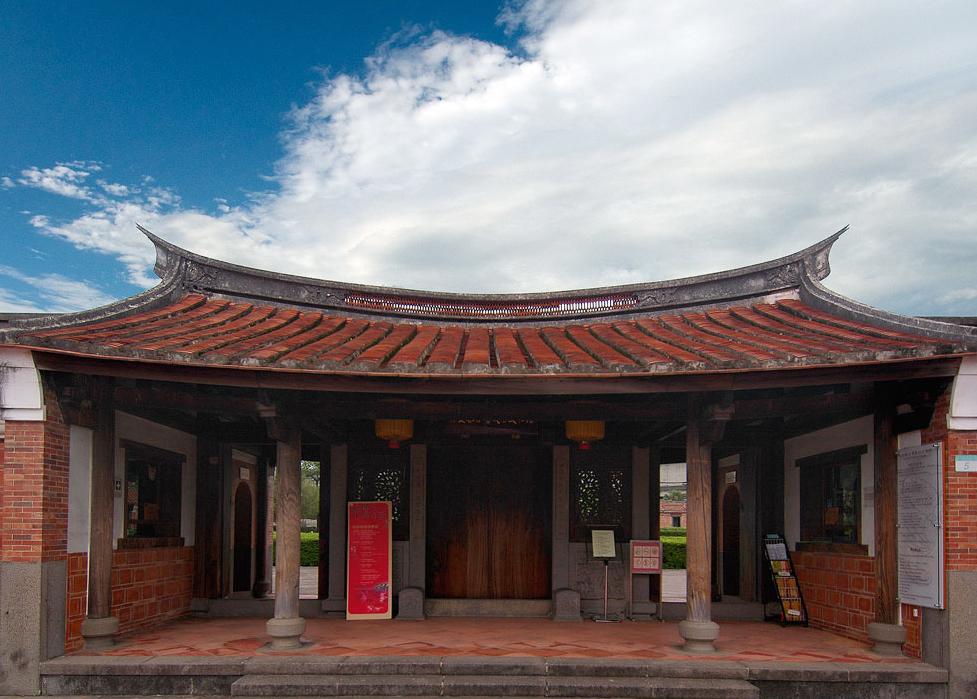 林安泰古厝民俗文物館の入口