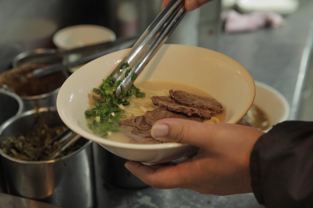 美味しい牛肉麺