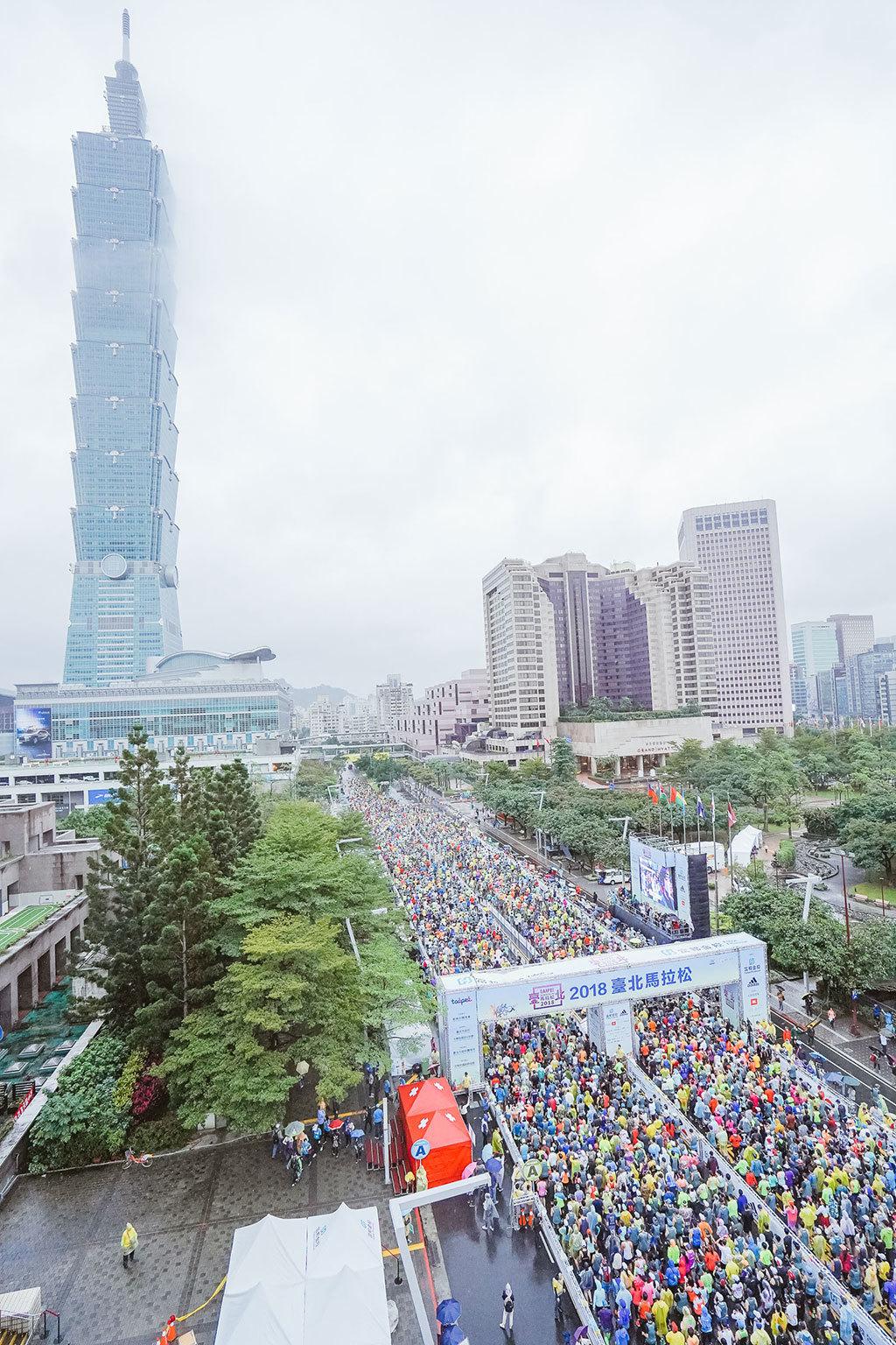 2018台北マラソン-台北101