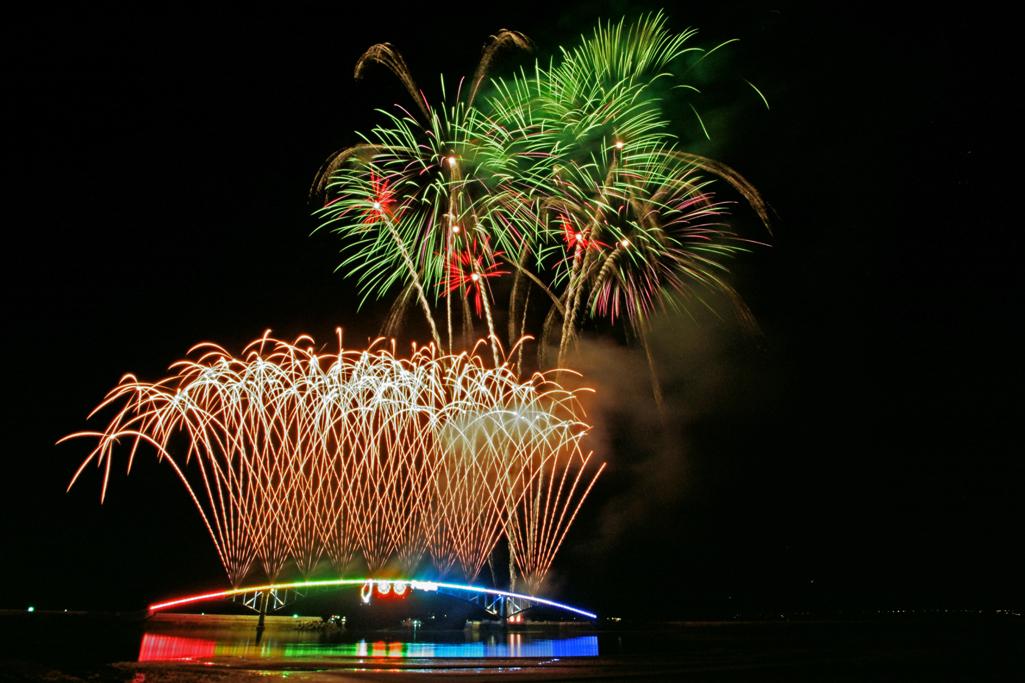 澎湖海上花火フェスティバル