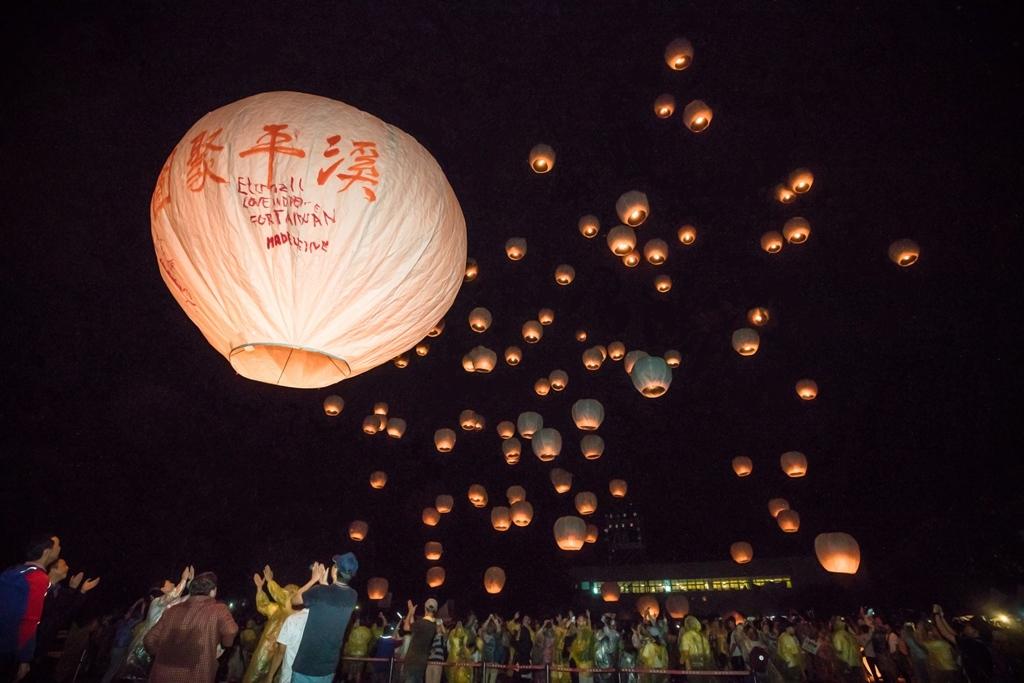 2017 平溪(ピンシー)国際天灯祭り  (3)