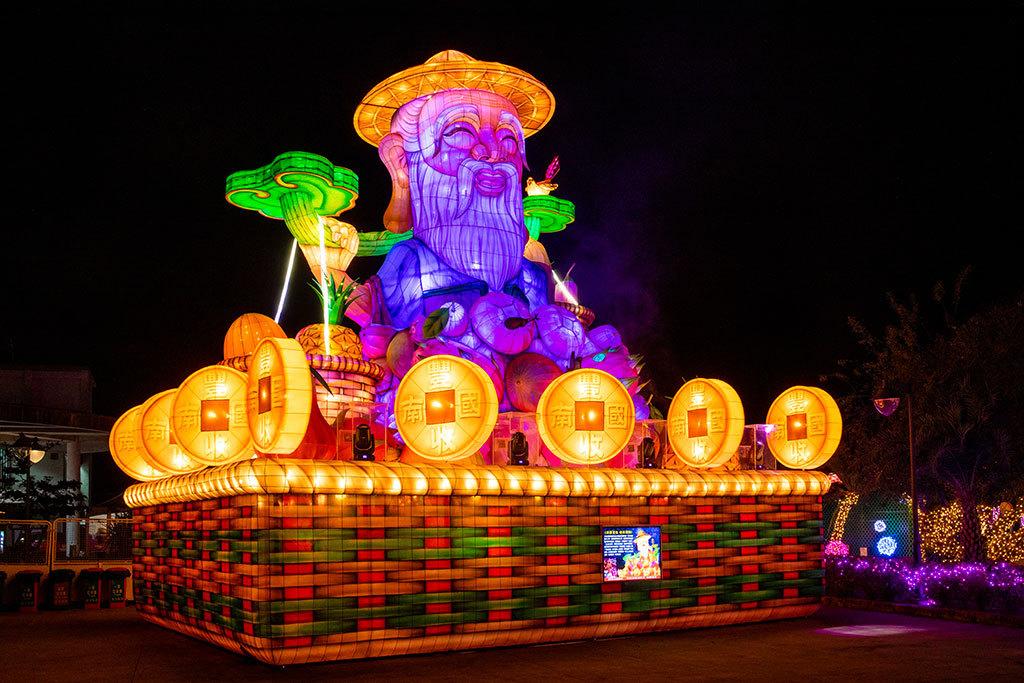 2019台湾ランタンフェスティバル伝統サブランタン-南国豊収