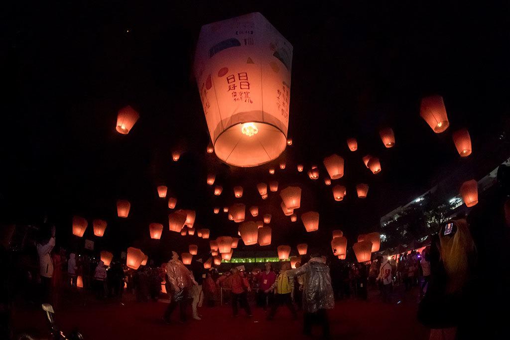 2019平溪(ピンシー)国際天灯祭り-03