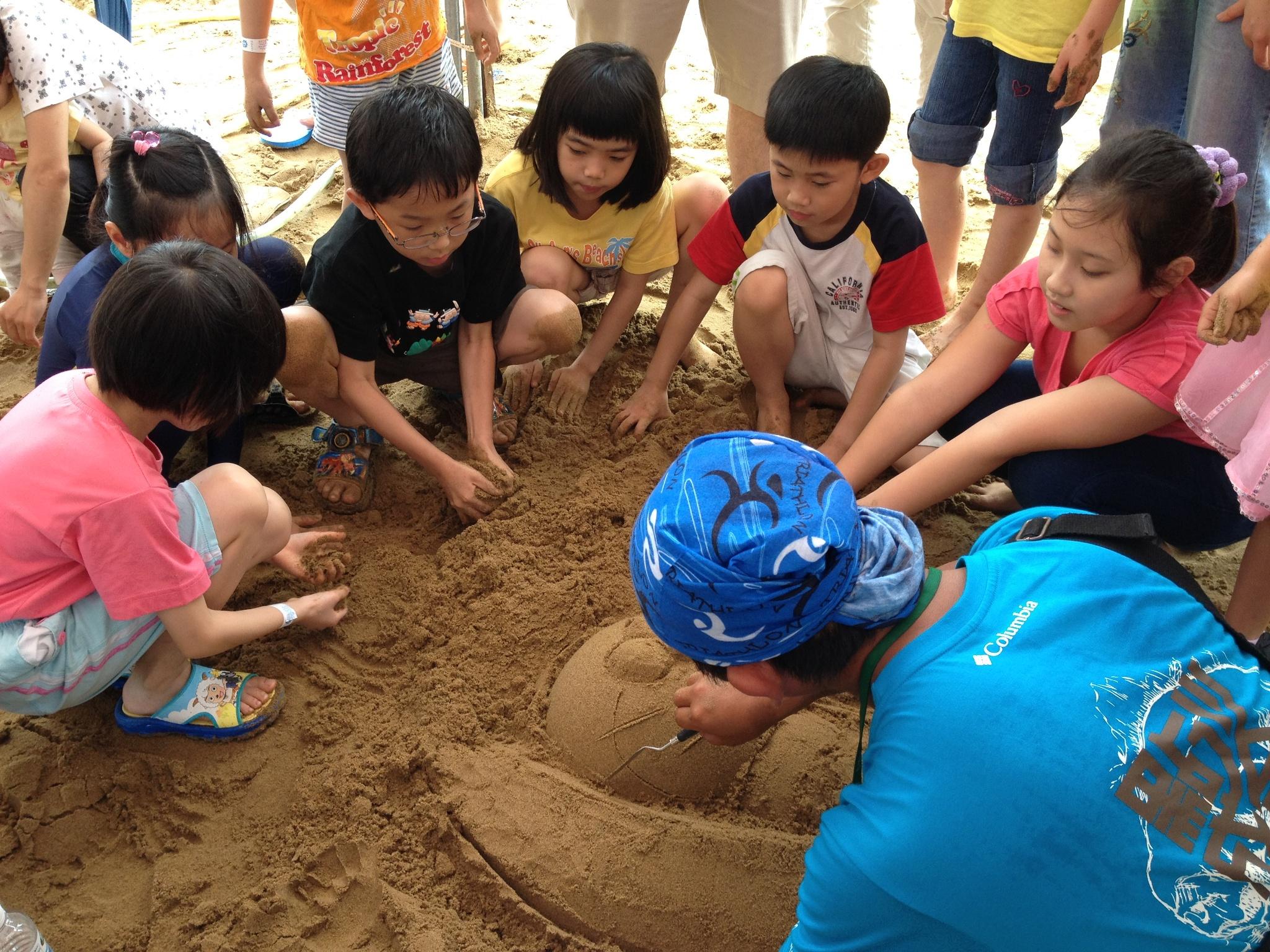 福隆国際砂の彫刻芸術シーズン