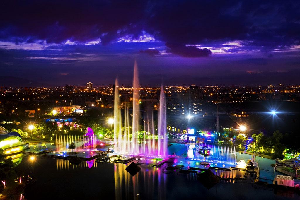 童玩节水舞灯光秀暨夜景