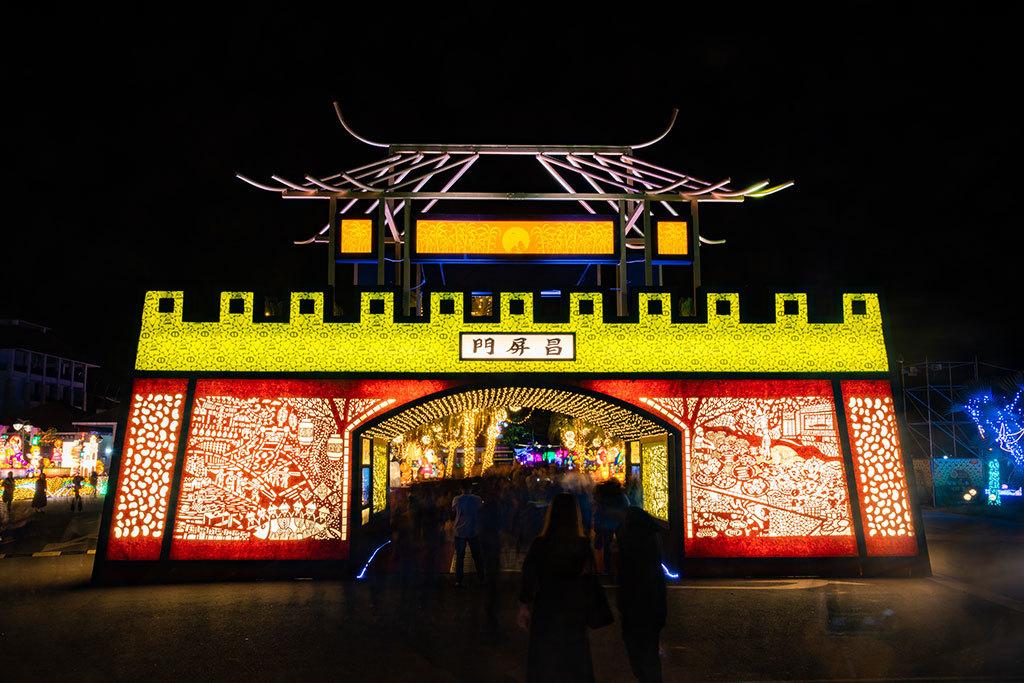 2019台湾ランタンフェスティバル伝統サブランタン-点亮屏安