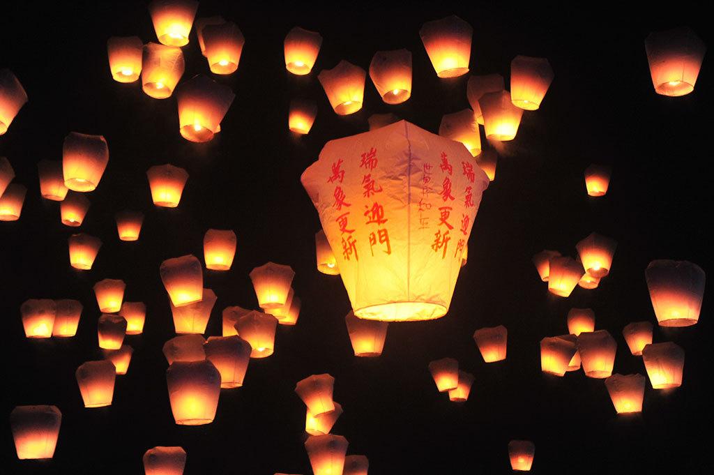 2019平溪(ピンシー)国際天灯祭り-02