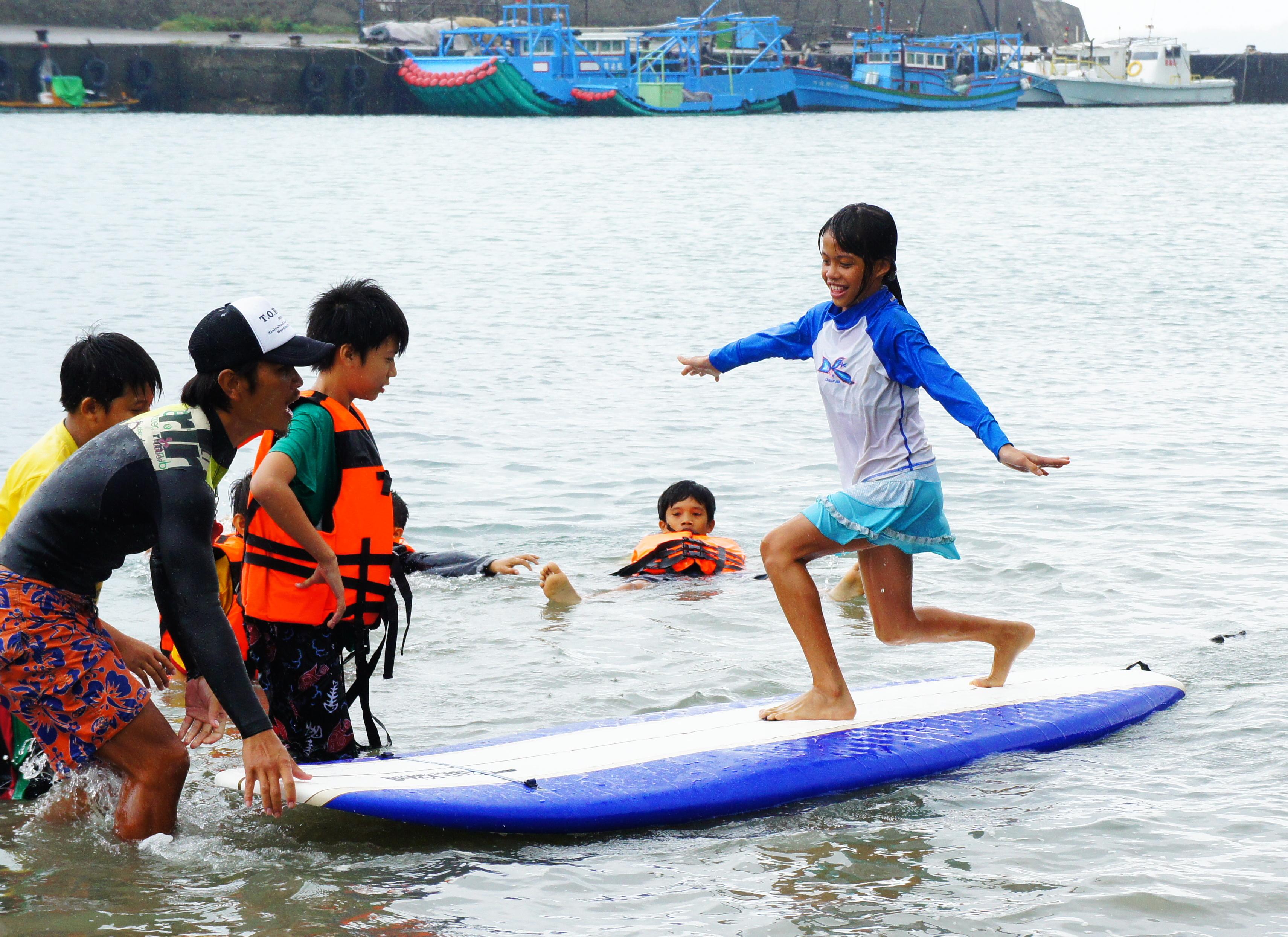 台湾国際サーフィン大会