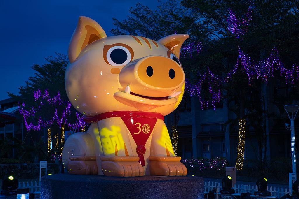 2019台湾ランタンフェスティバル革新サブランタン-豊猪屏安